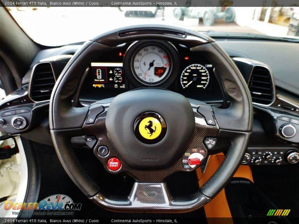 2014 Ferrari 458 Italia Steering Wheel Photo #22