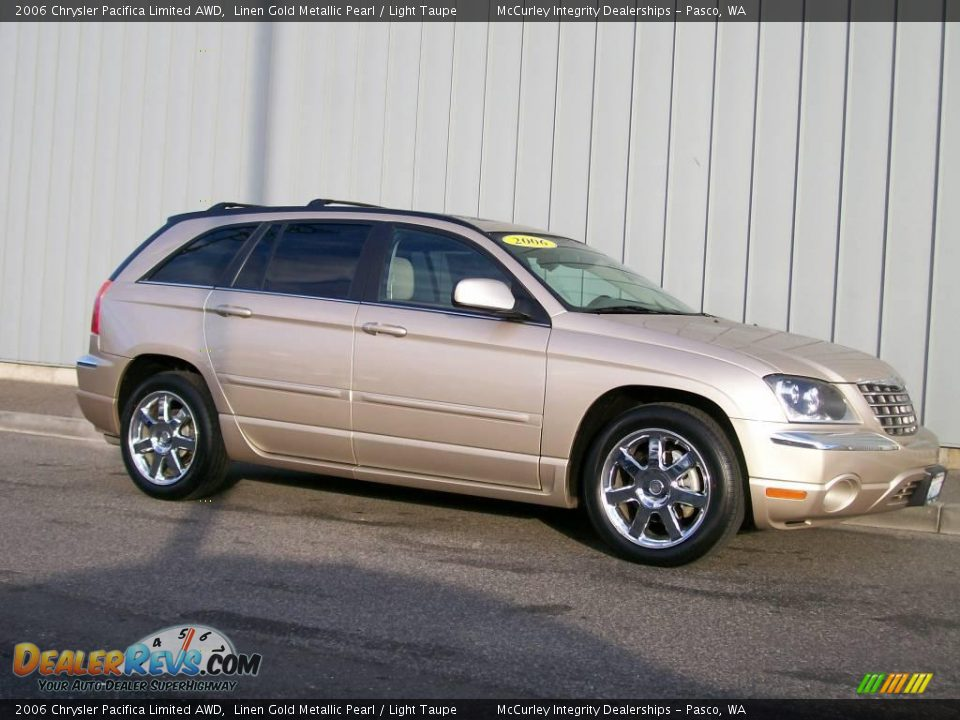 2006 chrysler pacifica limited awd linen gold metallic. Black Bedroom Furniture Sets. Home Design Ideas