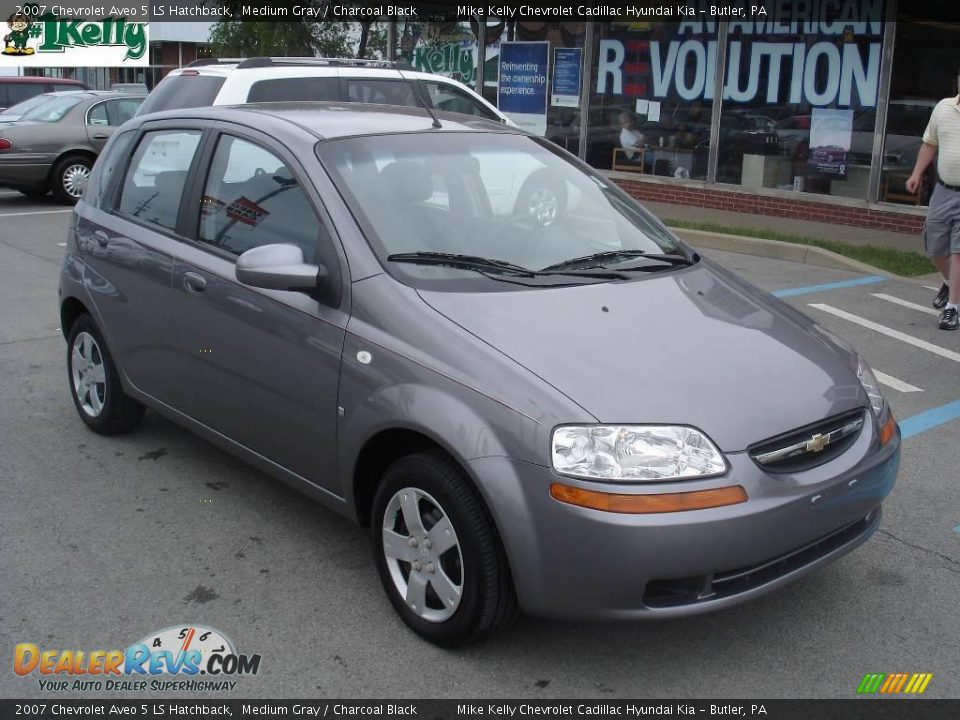 2007 chevrolet aveo 5 ls hatchback medium gray charcoal. Black Bedroom Furniture Sets. Home Design Ideas