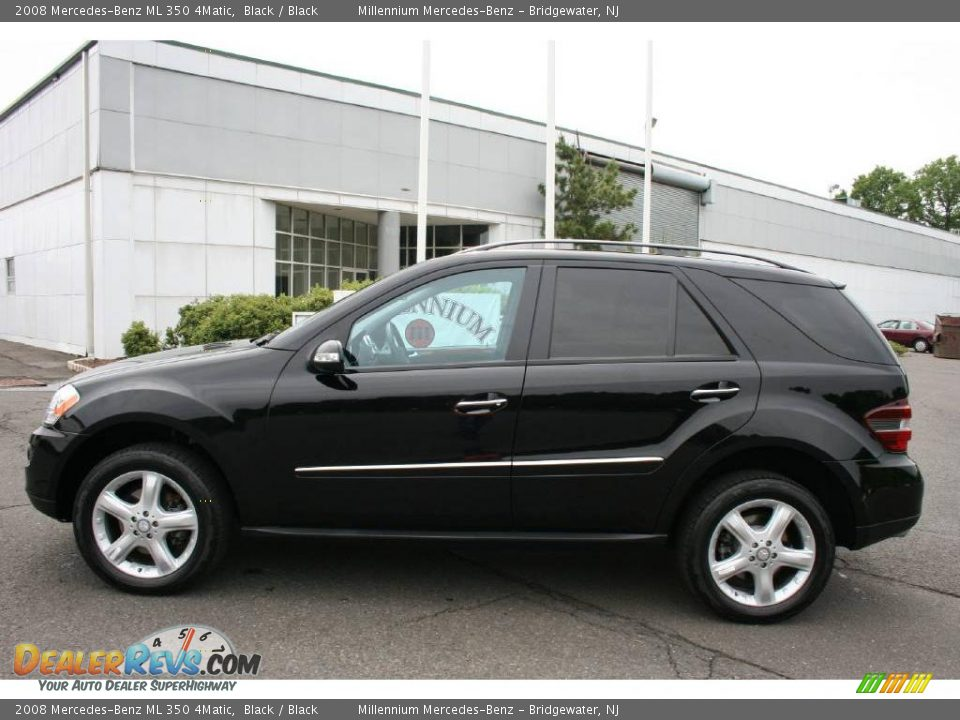 2008 mercedes benz ml 350 4matic black black photo 8 for Mercedes benz ml 350 2008
