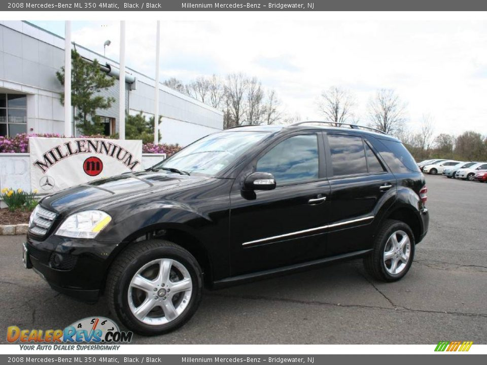 2008 mercedes benz ml 350 4matic black black photo 1 for Mercedes benz ml 350 2008