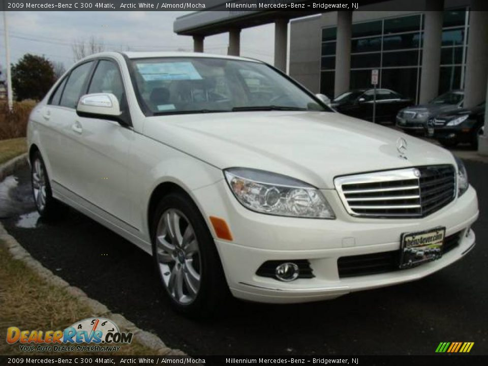 2009 mercedes benz c 300 4matic arctic white almond for 2009 mercedes benz c 300