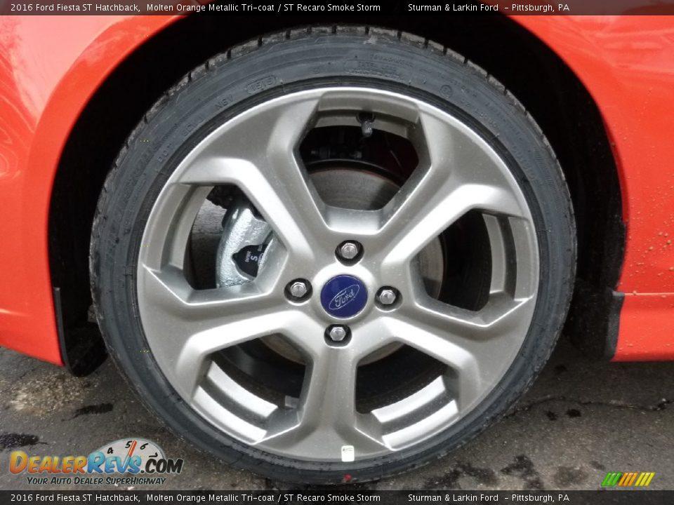 2016 Ford Fiesta ST Hatchback Wheel Photo #5