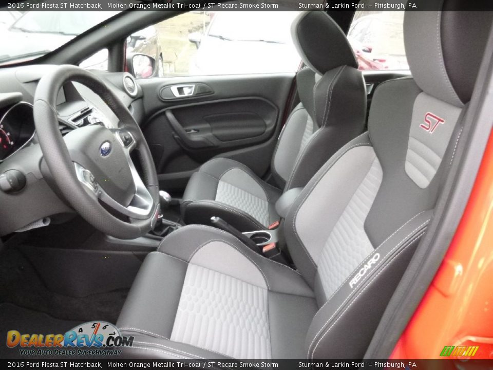 Front Seat of 2016 Ford Fiesta ST Hatchback Photo #6