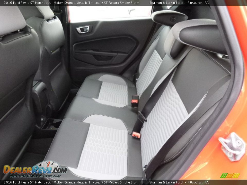 Rear Seat of 2016 Ford Fiesta ST Hatchback Photo #7