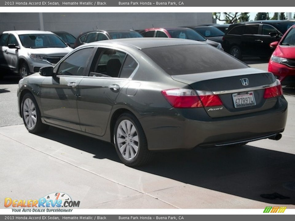 2013 Honda Accord EX Sedan Hematite Metallic / Black Photo #2