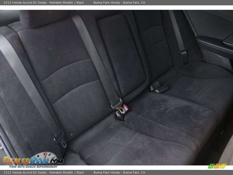 2013 Honda Accord EX Sedan Hematite Metallic / Black Photo #18