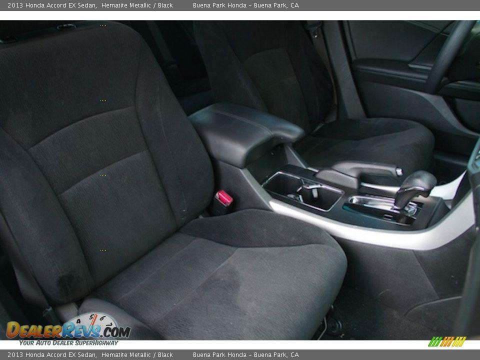 2013 Honda Accord EX Sedan Hematite Metallic / Black Photo #20