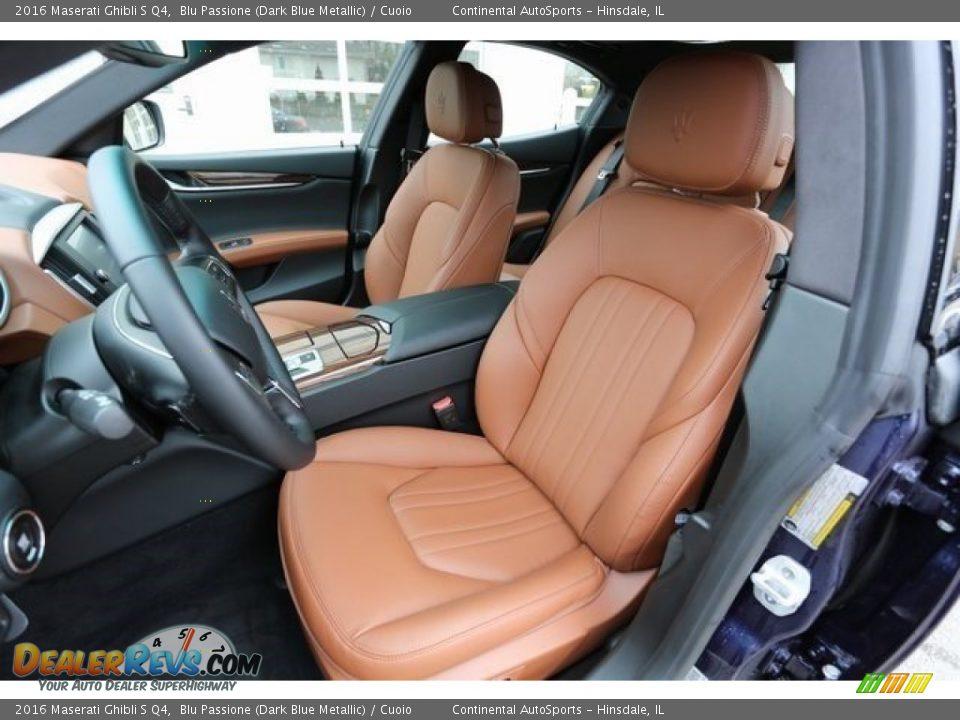Front Seat of 2016 Maserati Ghibli S Q4 Photo #7