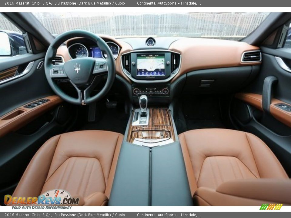 Cuoio Interior - 2016 Maserati Ghibli S Q4 Photo #8