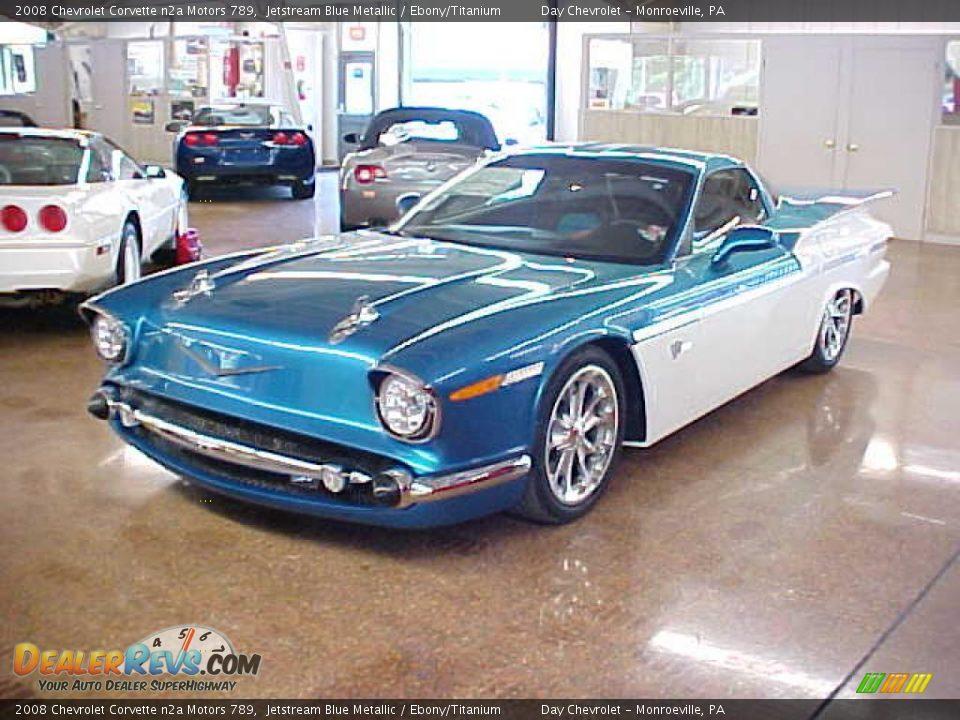 Jetstream Blue Corvette >> Jetstream Blue Metallic 2008 Chevrolet Corvette n2a Motors 789 Photo #7 | DealerRevs.com