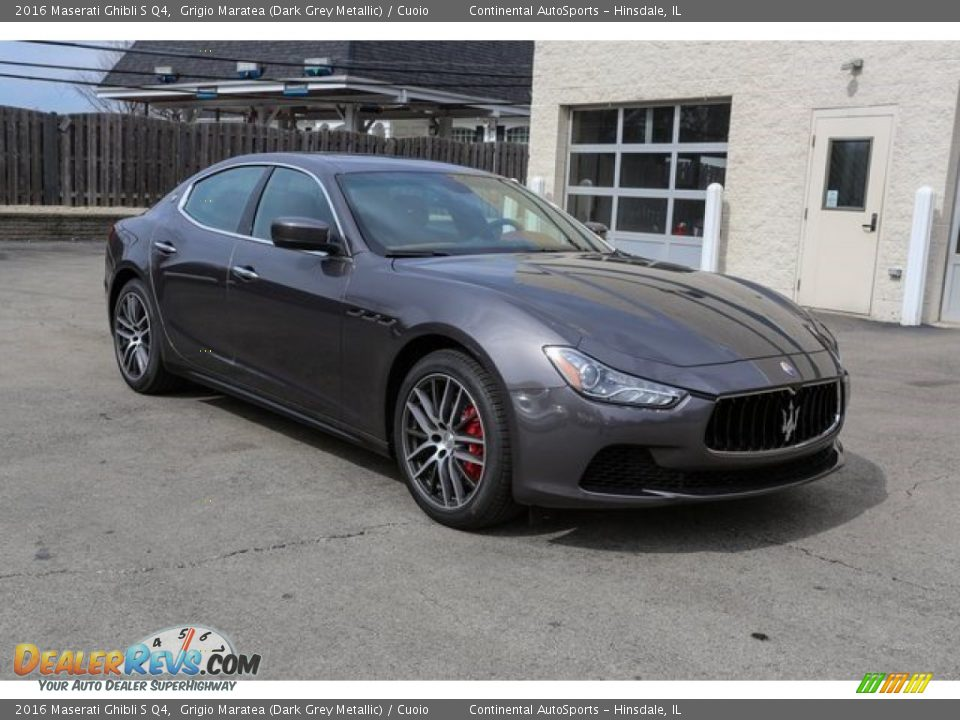 Front 3/4 View of 2016 Maserati Ghibli S Q4 Photo #1