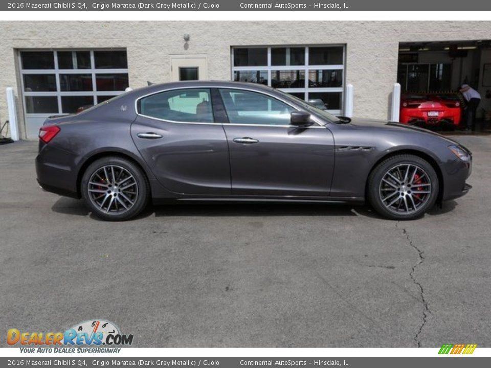 Grigio Maratea (Dark Grey Metallic) 2016 Maserati Ghibli S Q4 Photo #2