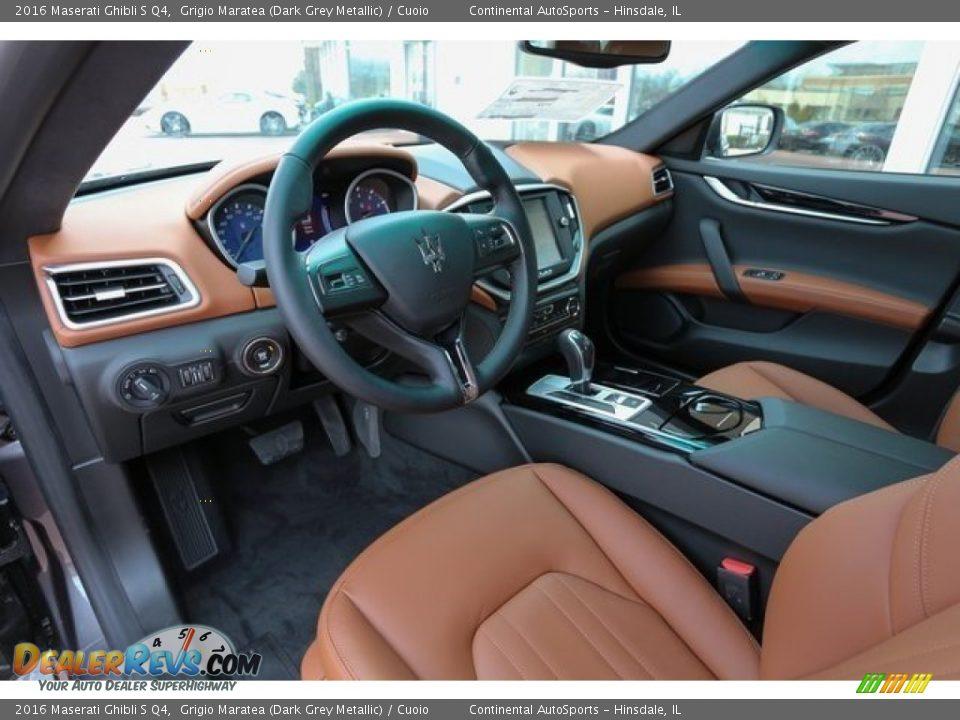 Cuoio Interior - 2016 Maserati Ghibli S Q4 Photo #7
