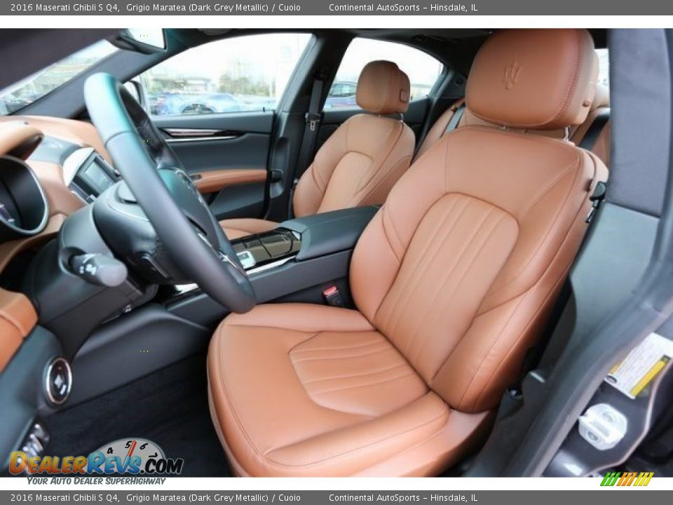 Front Seat of 2016 Maserati Ghibli S Q4 Photo #8