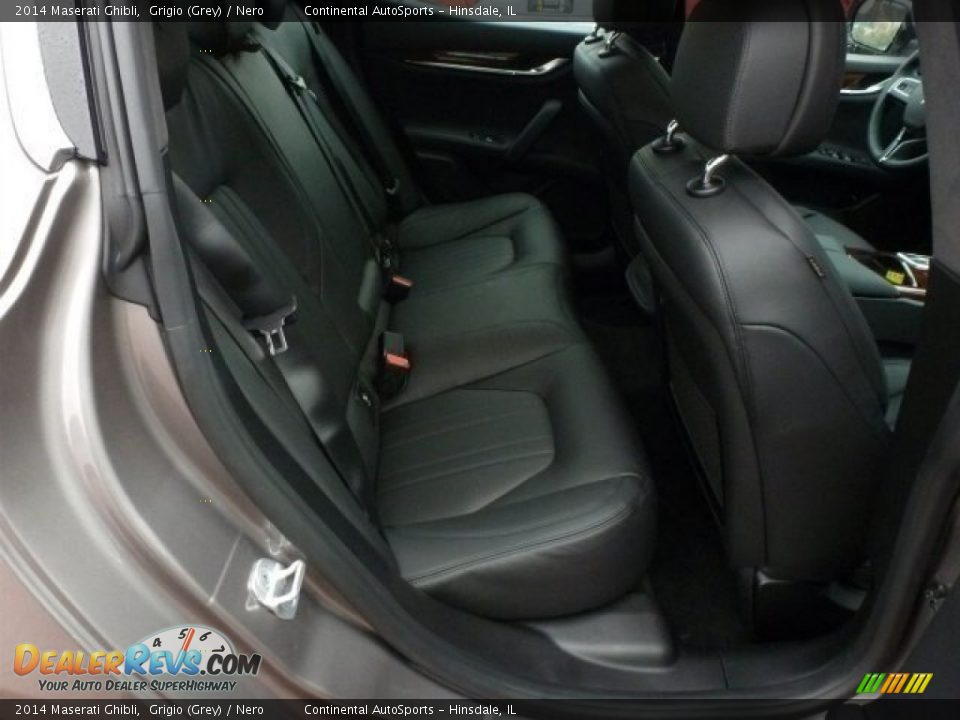 2014 Maserati Ghibli Grigio (Grey) / Nero Photo #24