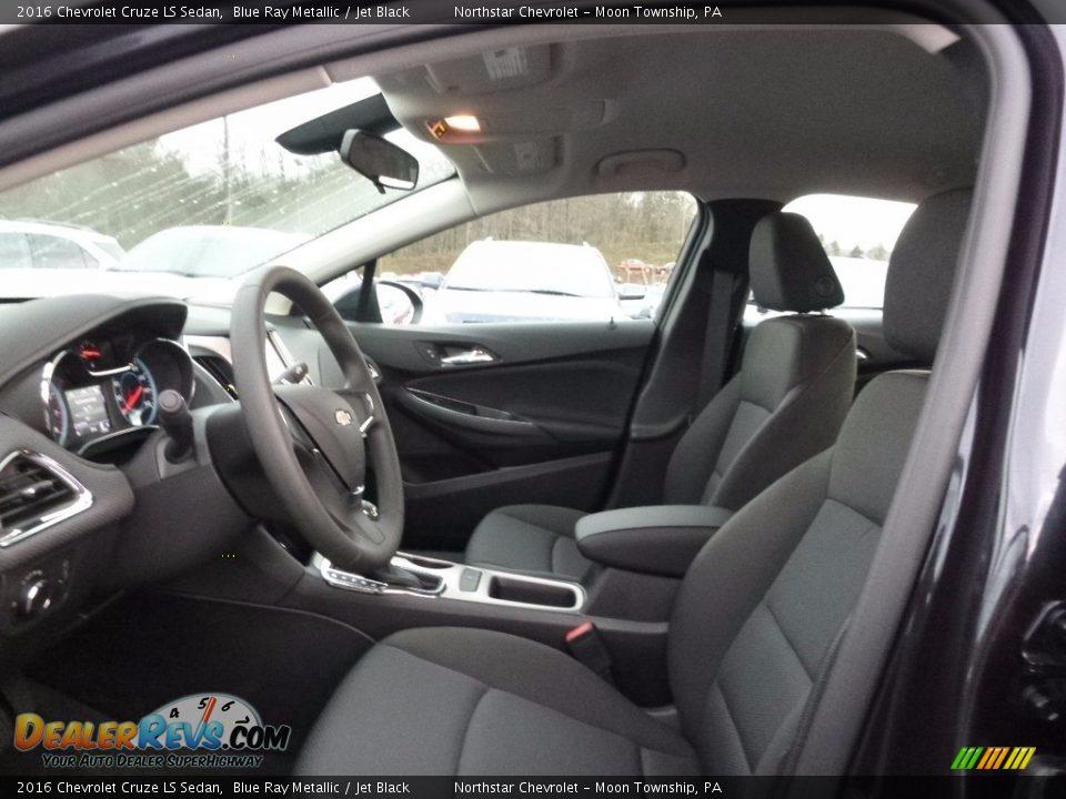 2016 Chevrolet Cruze LS Sedan Blue Ray Metallic / Jet Black Photo #11
