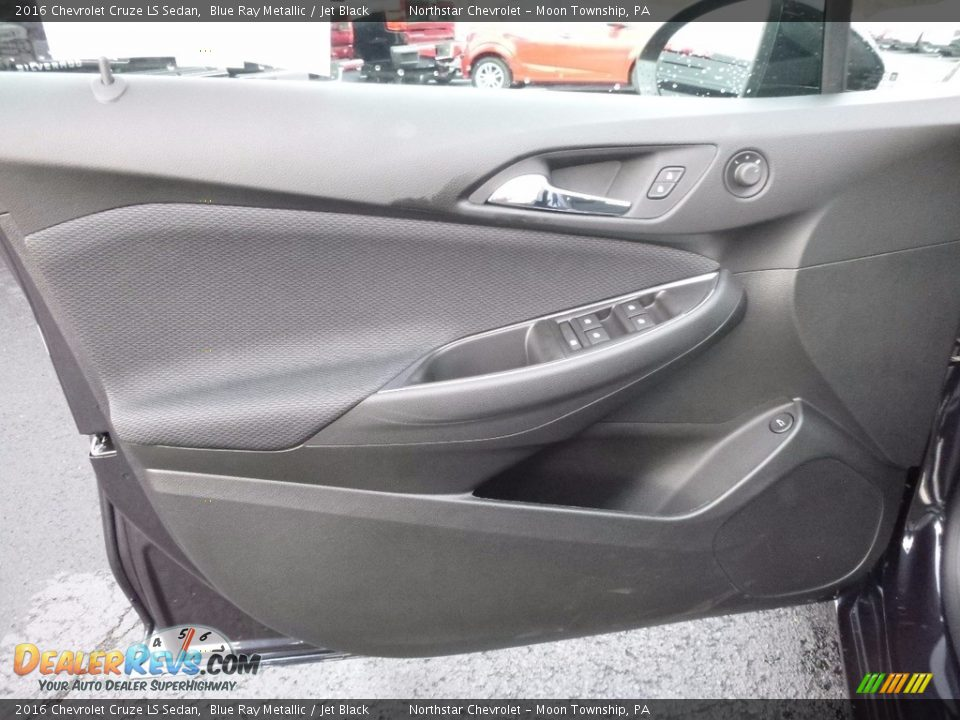 2016 Chevrolet Cruze LS Sedan Blue Ray Metallic / Jet Black Photo #14
