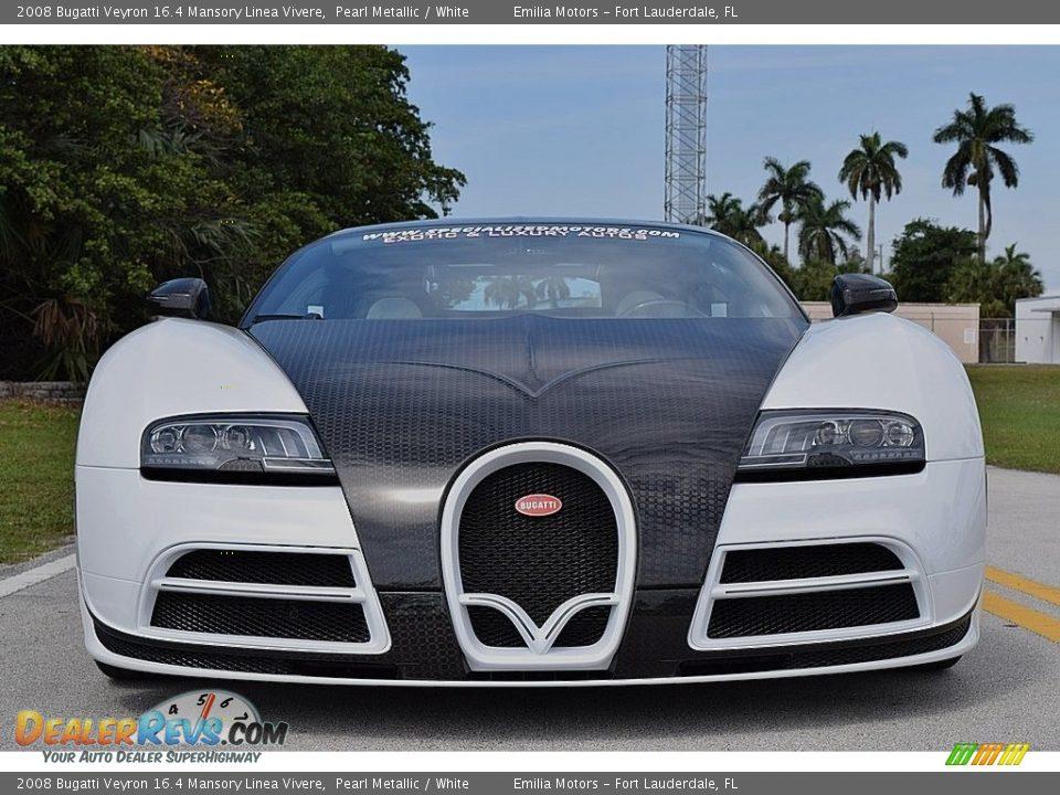 2008 Bugatti Veyron 16.4 Mansory Linea Vivere Pearl Metallic / White Photo #10