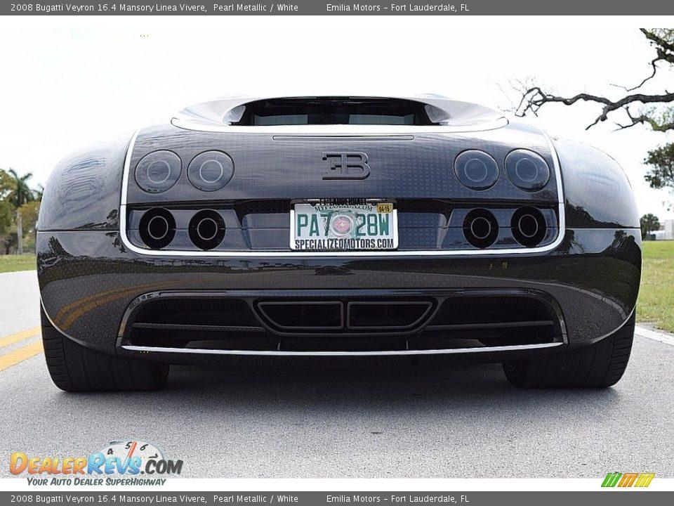 2008 Bugatti Veyron 16.4 Mansory Linea Vivere Pearl Metallic / White Photo #18