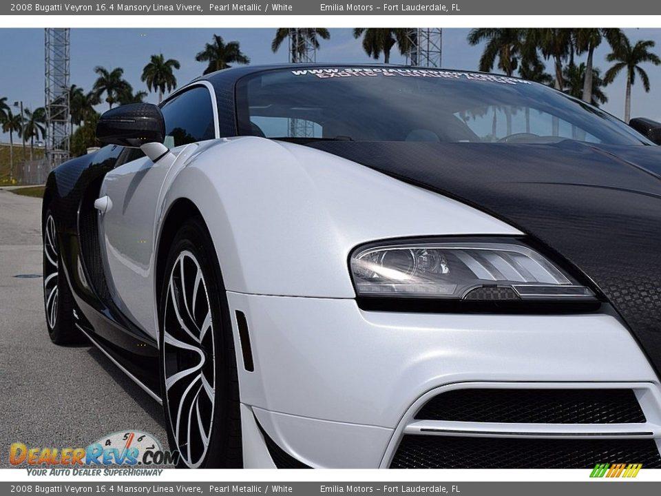 2008 Bugatti Veyron 16.4 Mansory Linea Vivere Pearl Metallic / White Photo #21