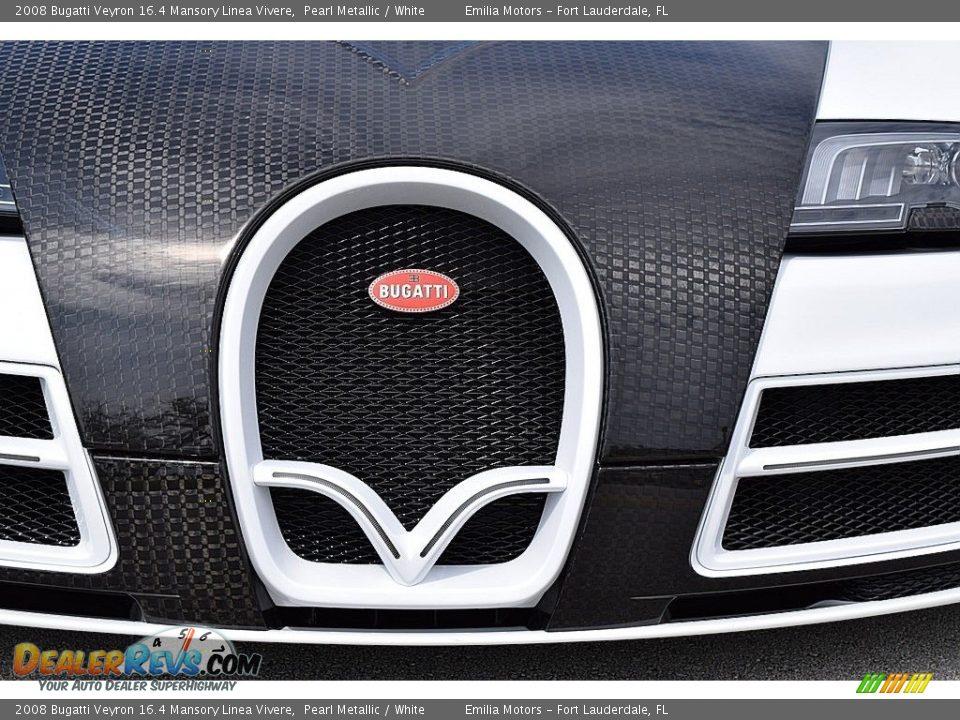 2008 Bugatti Veyron 16.4 Mansory Linea Vivere Pearl Metallic / White Photo #23
