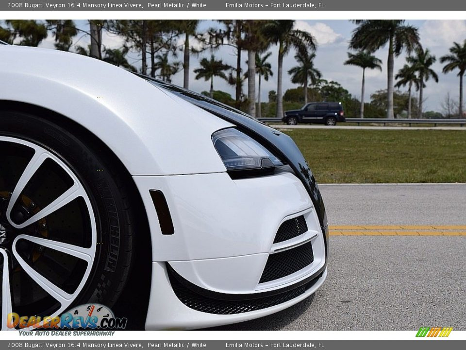 2008 Bugatti Veyron 16.4 Mansory Linea Vivere Pearl Metallic / White Photo #27