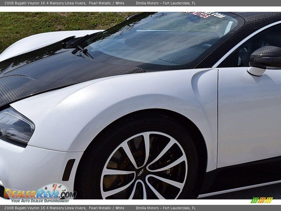 2008 Bugatti Veyron 16.4 Mansory Linea Vivere Pearl Metallic / White Photo #28
