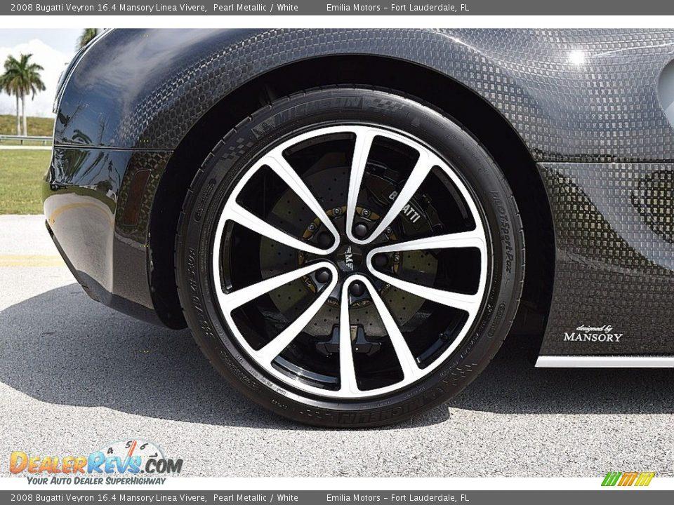 2008 Bugatti Veyron 16.4 Mansory Linea Vivere Wheel Photo #32