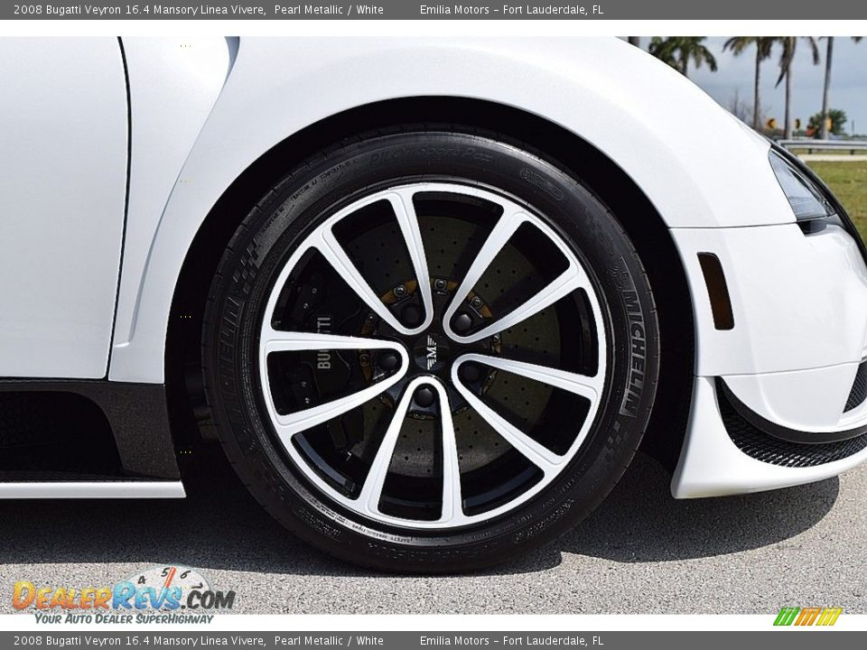 2008 Bugatti Veyron 16.4 Mansory Linea Vivere Wheel Photo #33