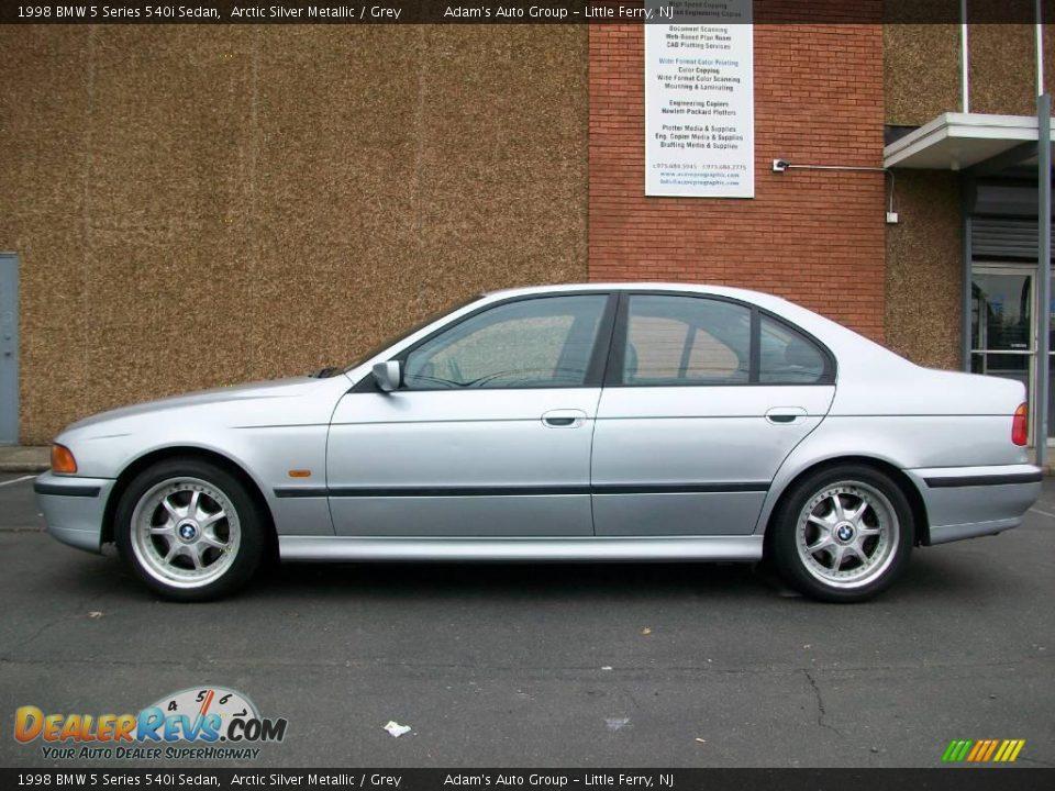 1998 Bmw 5 Series 540i Sedan Arctic Silver Metallic Grey