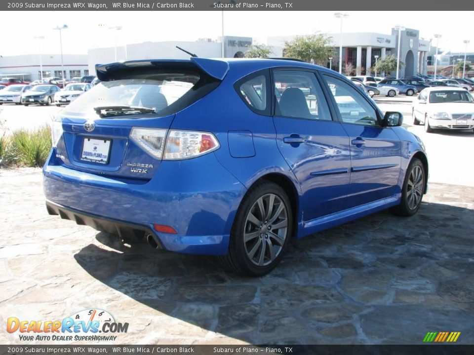 2009 subaru impreza wrx wagon wr blue mica carbon black photo 4. Black Bedroom Furniture Sets. Home Design Ideas
