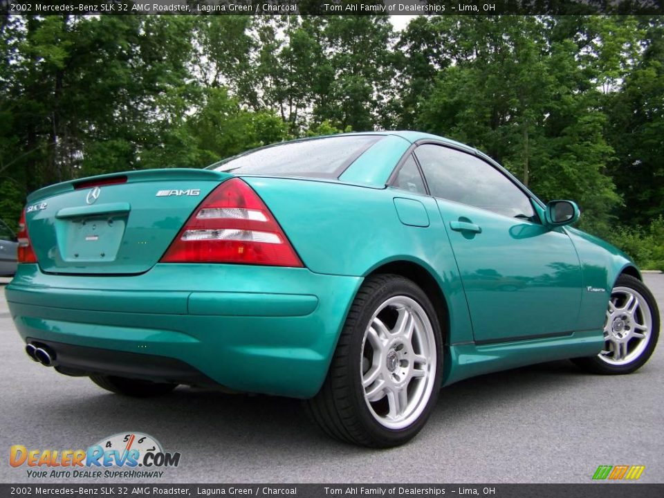 2002 mercedes benz slk 32 amg roadster laguna green. Black Bedroom Furniture Sets. Home Design Ideas