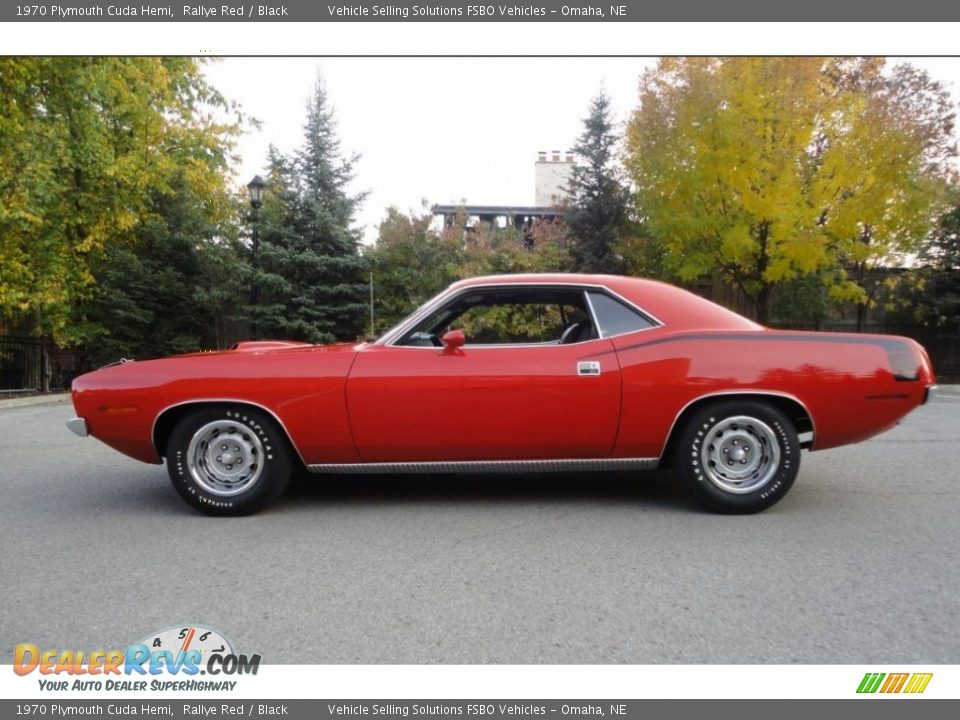 Rallye Red 1970 Plymouth Cuda Hemi Photo #1