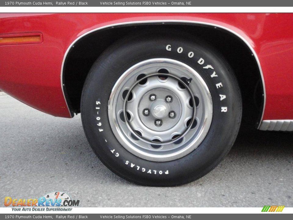 1970 Plymouth Cuda Hemi Wheel Photo #19