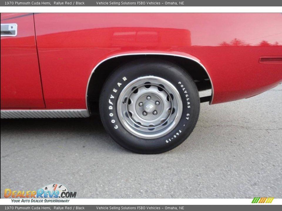 1970 Plymouth Cuda Hemi Wheel Photo #20