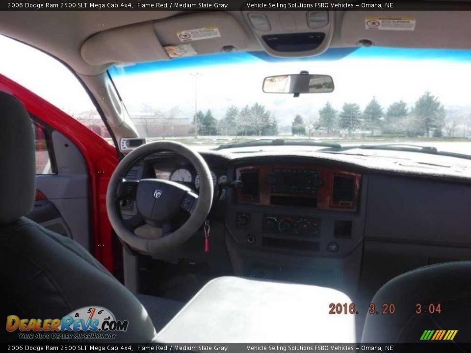 2006 Dodge Ram 2500 SLT Mega Cab 4x4 Flame Red / Medium Slate Gray Photo #9