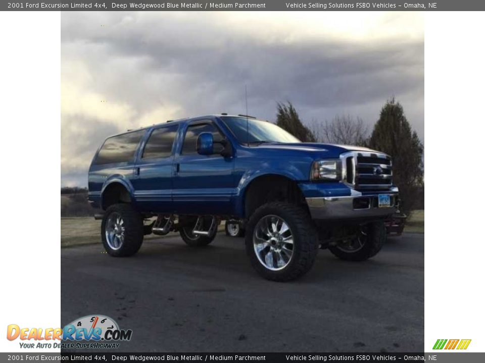 Ford Dealer Locator >> 2001 Ford Excursion Limited 4x4 Deep Wedgewood Blue ...