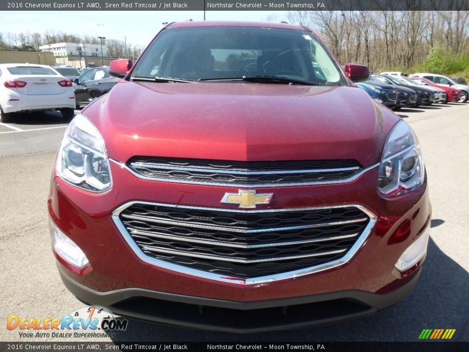 2016 Chevrolet Equinox LT AWD Siren Red Tintcoat / Jet Black Photo #2