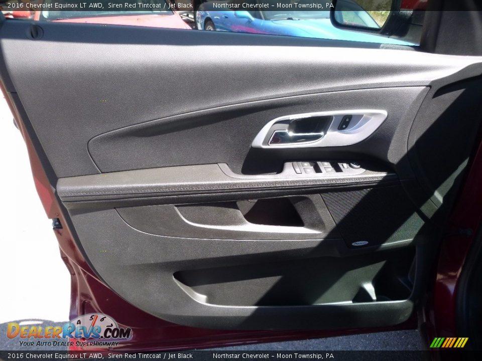 2016 Chevrolet Equinox LT AWD Siren Red Tintcoat / Jet Black Photo #13
