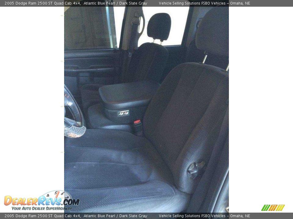 2005 Dodge Ram 2500 ST Quad Cab 4x4 Atlantic Blue Pearl / Dark Slate Gray Photo #11