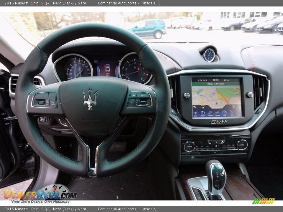 2016 Maserati Ghibli S Q4 Nero (Black) / Nero Photo #11