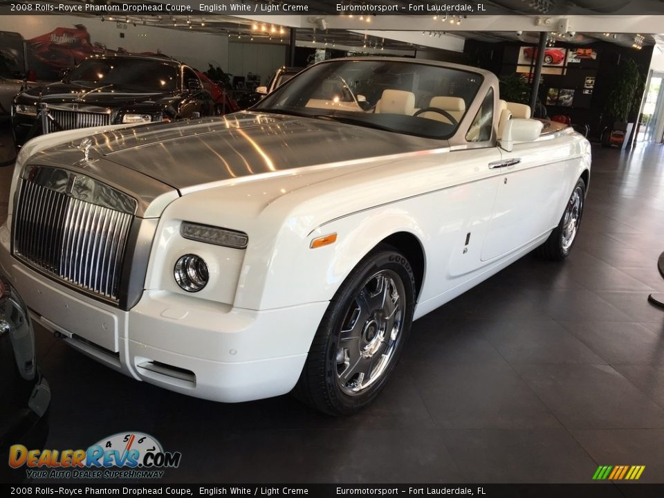 Front 3/4 View of 2008 Rolls-Royce Phantom Drophead Coupe  Photo #13