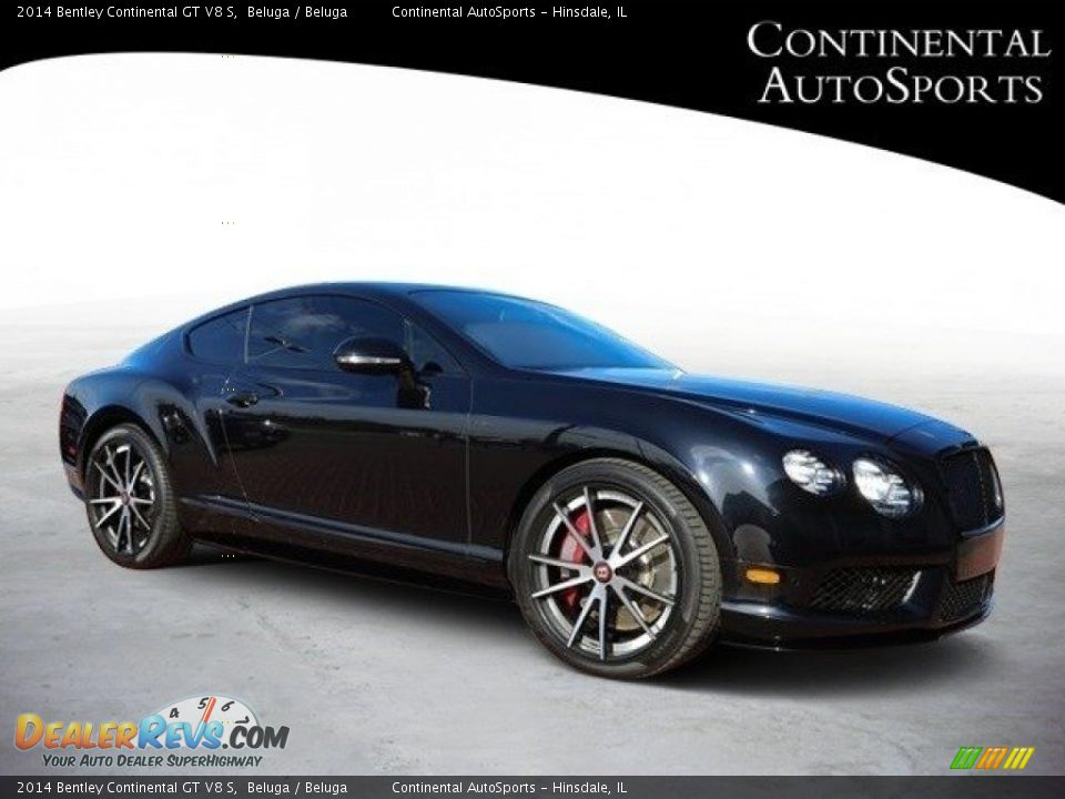 2014 Bentley Continental GT V8 S Beluga / Beluga Photo #1