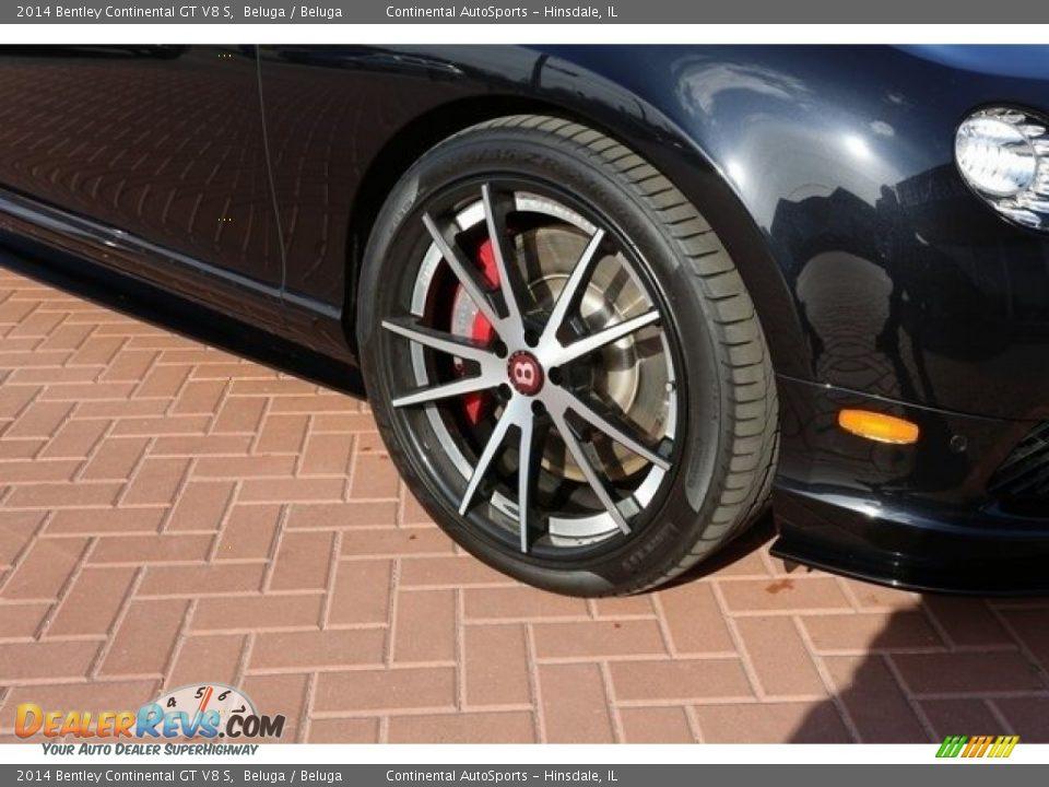 2014 Bentley Continental GT V8 S Beluga / Beluga Photo #11