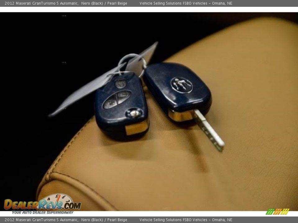 Keys of 2012 Maserati GranTurismo S Automatic Photo #21