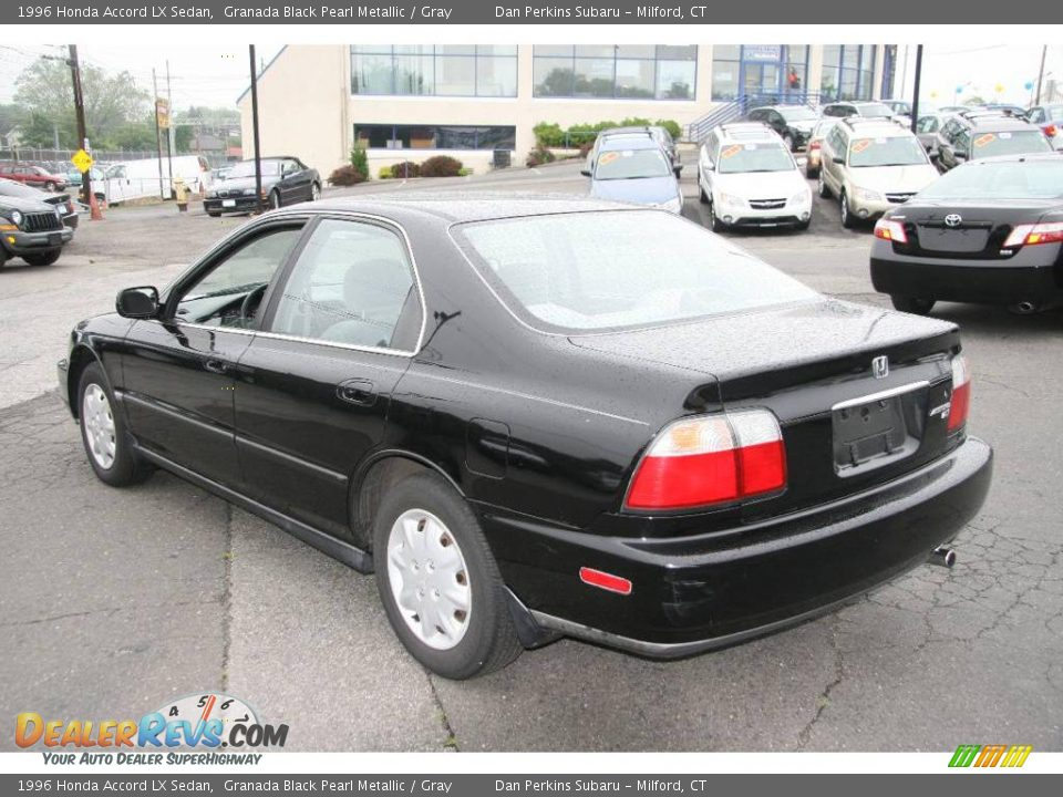 1996 Honda Accord Lx Sedan Granada Black Pearl Metallic