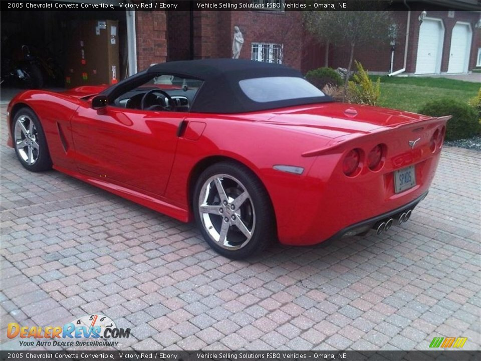 2005 Chevrolet Corvette Convertible Victory Red / Ebony Photo #3