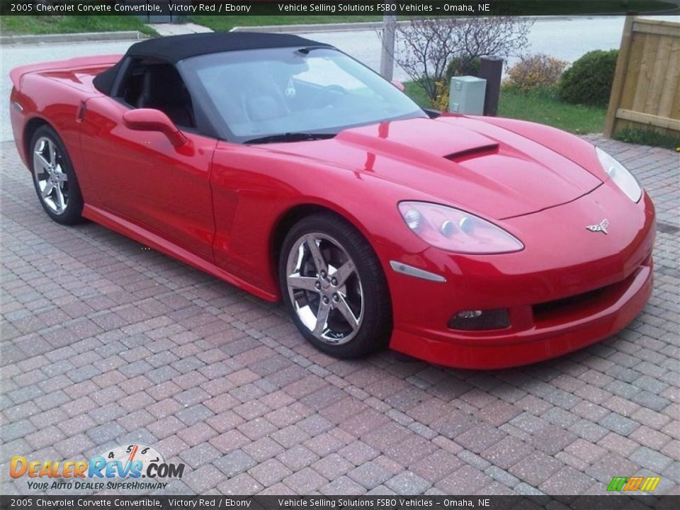 2005 Chevrolet Corvette Convertible Victory Red / Ebony Photo #5
