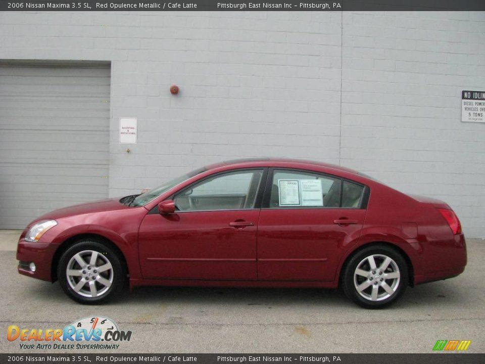Auto Com Used Cars >> 2006 Nissan Maxima 3.5 SL Red Opulence Metallic / Cafe ...